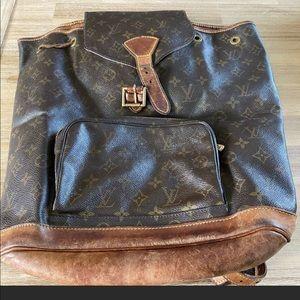 Louis Vuitton GM Backpack Vintage